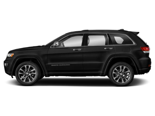 Diamond Black Crystal Pearlcoat 2018 Jeep Grand Cherokee Pictures Grand Cherokee Utility 4D Overland 2WD T-Dsl photos side view