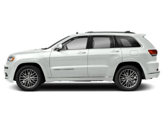 Bright White Clearcoat 2018 Jeep Grand Cherokee Pictures Grand Cherokee Utility 4D Summit 4WD photos side view