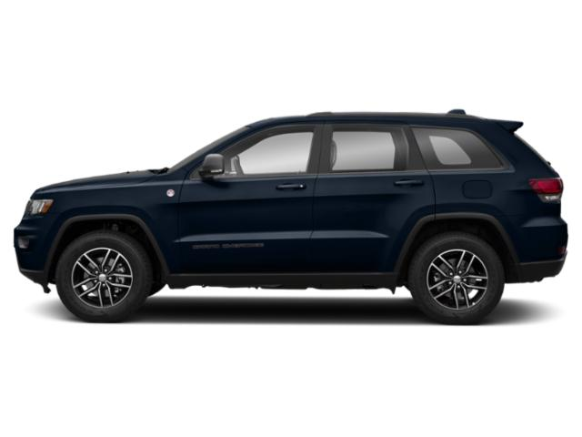 True Blue Pearlcoat 2018 Jeep Grand Cherokee Pictures Grand Cherokee Trailhawk 4x4 *Ltd Avail* photos side view