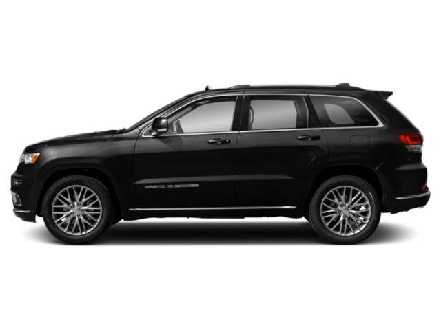 Diamond Black Crystal Pearlcoat 2018 Jeep Grand Cherokee Pictures Grand Cherokee Utility 4D Summit 2WD photos side view