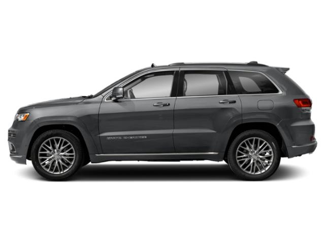 Billet Silver Metallic Clearcoat 2018 Jeep Grand Cherokee Pictures Grand Cherokee Utility 4D Summit 2WD photos side view