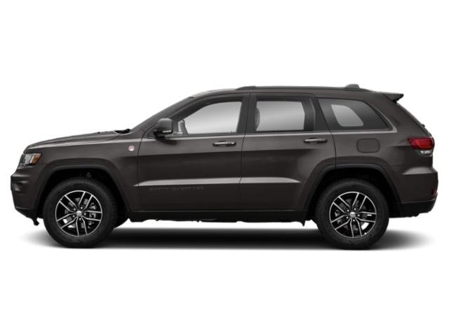 Granite Crystal Metallic Clearcoat 2018 Jeep Grand Cherokee Pictures Grand Cherokee Utility 4D Trailhawk 4WD V6 T-Dsl photos side view