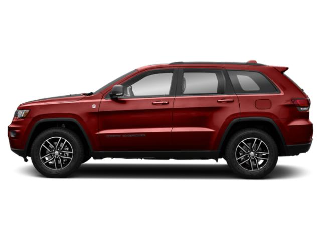 Redline 2 Coat Pearl 2018 Jeep Grand Cherokee Pictures Grand Cherokee Utility 4D Trailhawk 4WD V6 T-Dsl photos side view