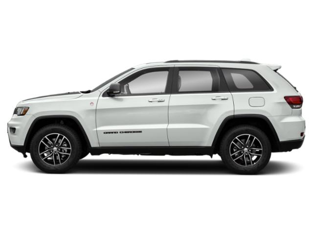 Bright White Clearcoat 2018 Jeep Grand Cherokee Pictures Grand Cherokee Utility 4D Trailhawk 4WD V6 T-Dsl photos side view