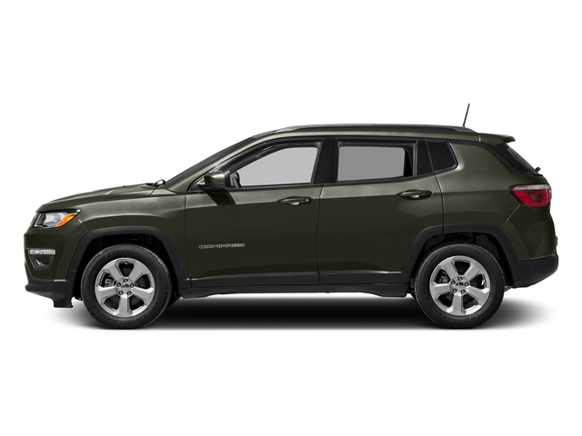 Olive Green Pearlcoat 2018 Jeep Compass Pictures Compass Sport FWD photos side view