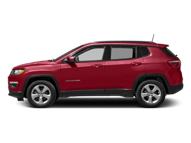 Redline Pearlcoat 2018 Jeep Compass Pictures Compass Sport FWD photos side view