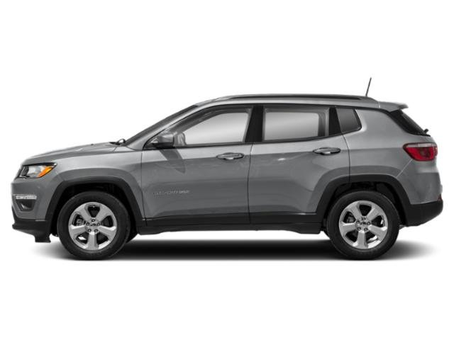 Billet Silver Metallic Clearcoat 2018 Jeep Compass Pictures Compass Sport FWD photos side view