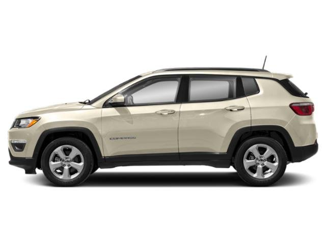 Pearl White Tri-Coat 2018 Jeep Compass Pictures Compass Utility 4D Limited 4WD photos side view