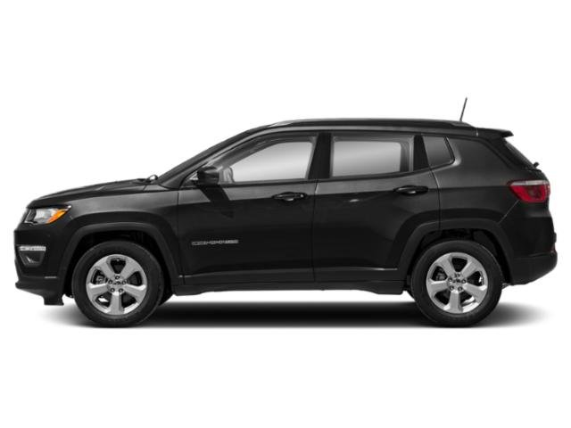 Diamond Black Crystal Pearlcoat 2018 Jeep Compass Pictures Compass Sport FWD photos side view