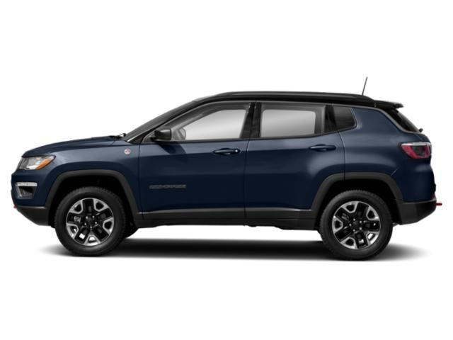 Jazz Blue Pearlcoat 2018 Jeep Compass Pictures Compass Trailhawk 4x4 photos side view