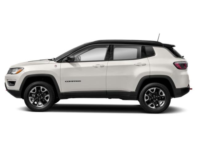 White Clearcoat 2018 Jeep Compass Pictures Compass Trailhawk 4x4 photos side view