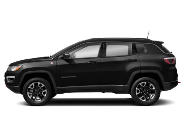 Diamond Black Crystal Pearlcoat 2018 Jeep Compass Pictures Compass Utility 4D Trailhawk 4WD photos side view