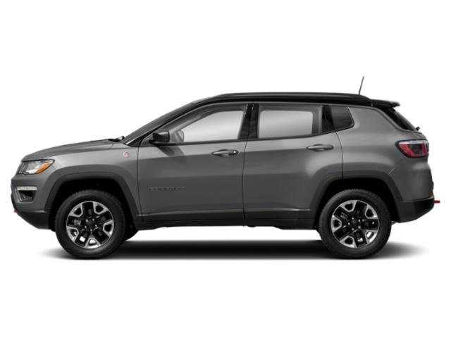 Billet Silver Metallic Clearcoat 2018 Jeep Compass Pictures Compass Utility 4D Trailhawk 4WD photos side view