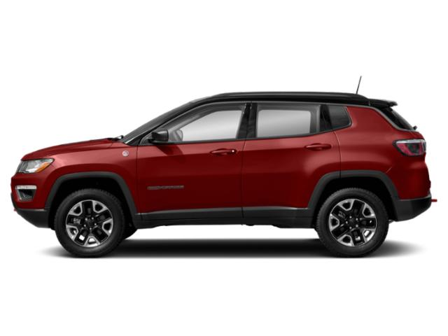Redline Pearlcoat 2018 Jeep Compass Pictures Compass Utility 4D Trailhawk 4WD photos side view