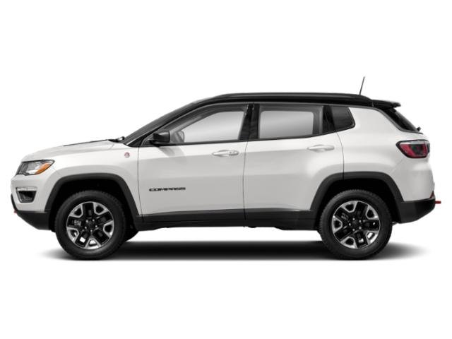 White Clearcoat 2018 Jeep Compass Pictures Compass Utility 4D Trailhawk 4WD photos side view