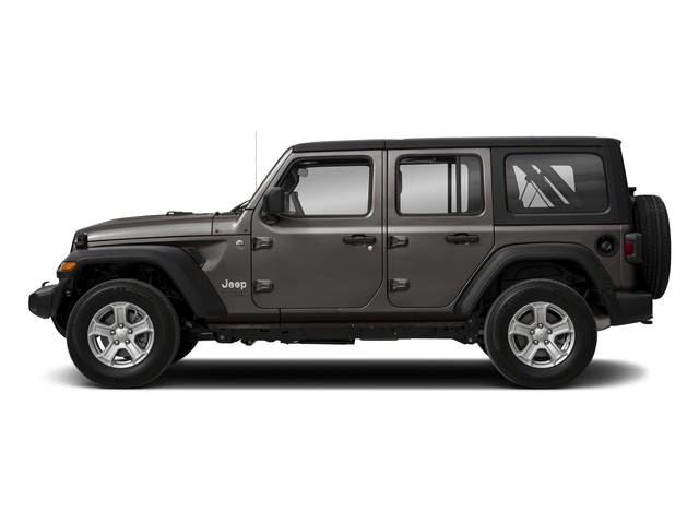 Granite Crystal Metallic Clearcoat 2018 Jeep Wrangler Unlimited Pictures Wrangler Unlimited Sport 4x4 photos side view