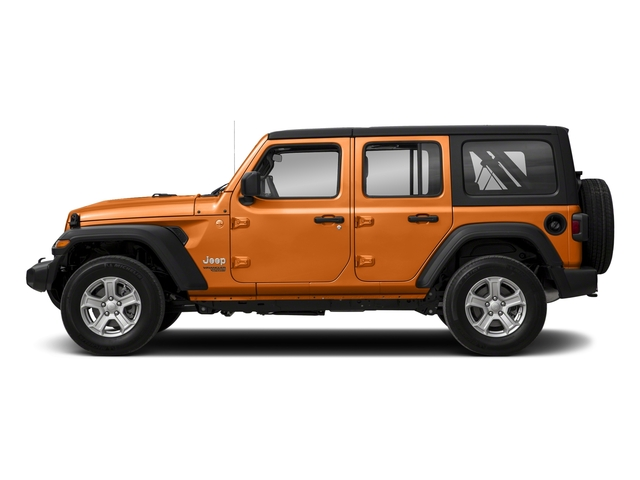 Punkn Metallic Clearcoat 2018 Jeep Wrangler Unlimited Pictures Wrangler Unlimited Sport 4x4 photos side view