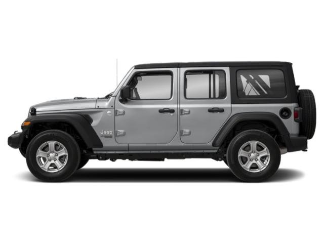 Billet Silver Metallic Clearcoat 2018 Jeep Wrangler Unlimited Pictures Wrangler Unlimited Utility 4D Sport 4WD V6 photos side view