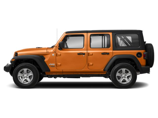 Punkn Metallic Clearcoat 2018 Jeep Wrangler Unlimited Pictures Wrangler Unlimited Utility 4D Sport 4WD V6 photos side view