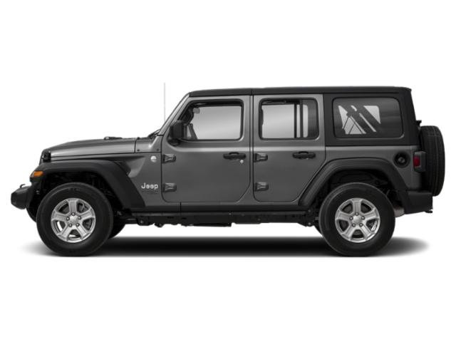 Sting-Gray Clearcoat 2018 Jeep Wrangler Unlimited Pictures Wrangler Unlimited Moab 4x4 photos side view