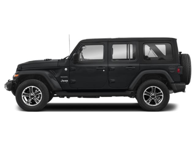 Sting-Gray Clearcoat 2018 Jeep Wrangler Unlimited Pictures Wrangler Unlimited Utility 4D Sahara 4WD V6 photos side view