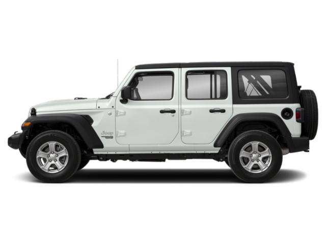Bright White Clearcoat 2018 Jeep Wrangler Unlimited Pictures Wrangler Unlimited Moab 4x4 photos side view