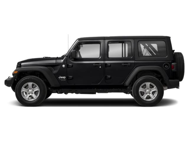 Black Clearcoat 2018 Jeep Wrangler Unlimited Pictures Wrangler Unlimited Moab 4x4 photos side view