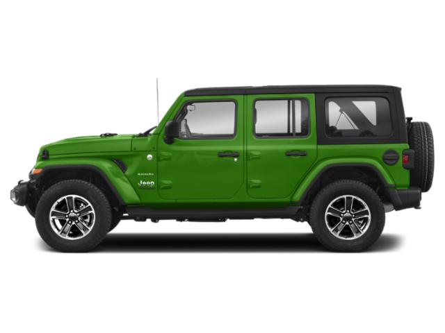 Mojito! Clearcoat 2018 Jeep Wrangler Unlimited Pictures Wrangler Unlimited Utility 4D Sahara 4WD V6 photos side view
