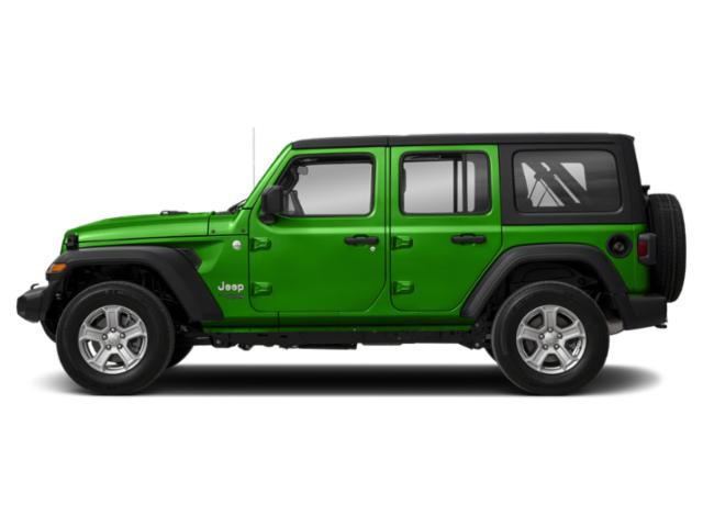 Mojito! Clearcoat 2018 Jeep Wrangler Unlimited Pictures Wrangler Unlimited Utility 4D Sport 4WD V6 photos side view