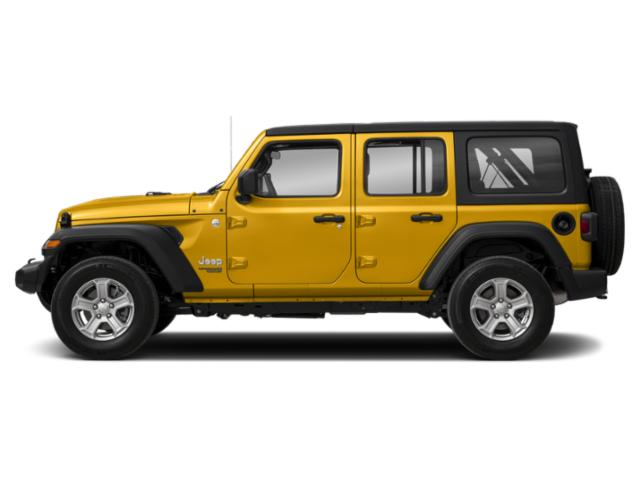 Hellayella Clearcoat 2018 Jeep Wrangler Unlimited Pictures Wrangler Unlimited Utility 4D Sport 4WD V6 photos side view