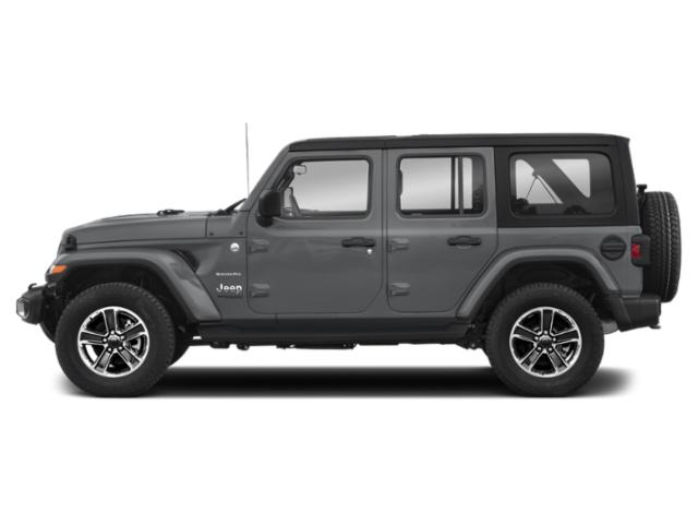Billet Silver Metallic Clearcoat 2018 Jeep Wrangler Unlimited Pictures Wrangler Unlimited Utility 4D Sahara 4WD V6 photos side view