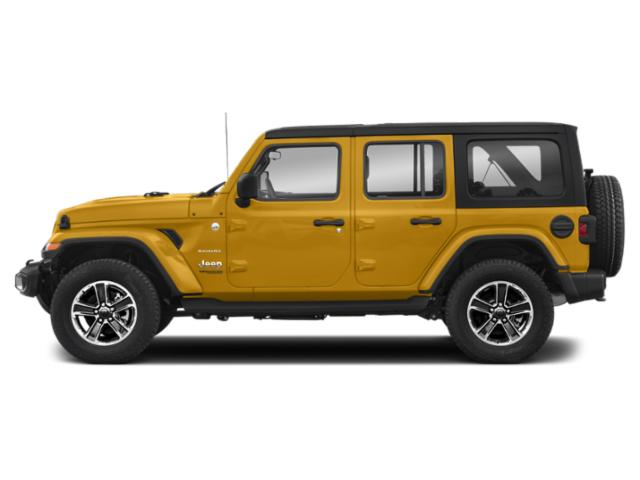 Hellayella Clearcoat 2018 Jeep Wrangler Unlimited Pictures Wrangler Unlimited Utility 4D Sahara 4WD V6 photos side view
