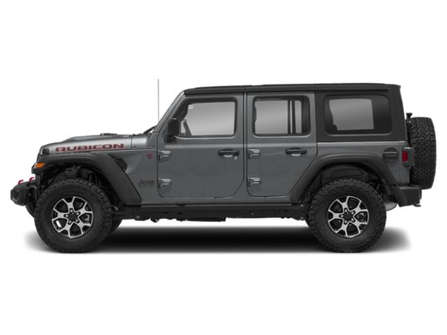 Billet Silver Metallic Clearcoat 2018 Jeep Wrangler Unlimited Pictures Wrangler Unlimited Utility 4D Rubicon 4WD V6 photos side view