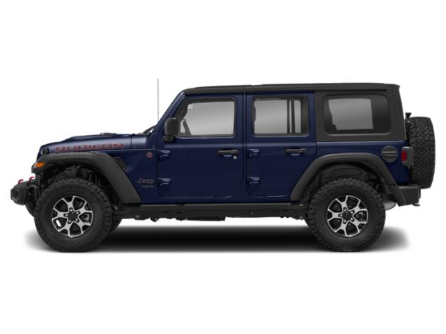 Ocean Blue Metallic Clearcoat 2018 Jeep Wrangler Unlimited Pictures Wrangler Unlimited Utility 4D Rubicon 4WD V6 photos side view