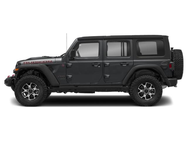 Sting-Gray Clearcoat 2018 Jeep Wrangler Unlimited Pictures Wrangler Unlimited Utility 4D Rubicon 4WD V6 photos side view