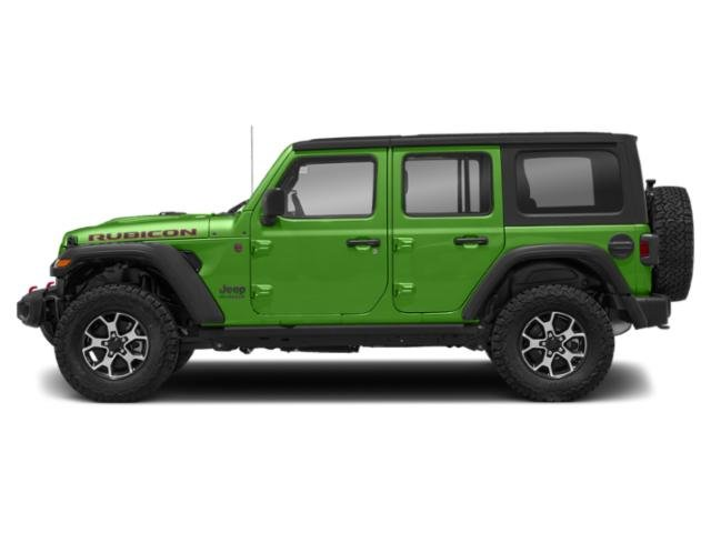Mojito! Clearcoat 2018 Jeep Wrangler Unlimited Pictures Wrangler Unlimited Utility 4D Rubicon 4WD V6 photos side view