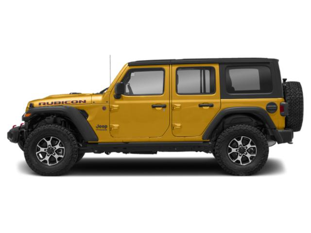 Hellayella Clearcoat 2018 Jeep Wrangler Unlimited Pictures Wrangler Unlimited Utility 4D Rubicon 4WD V6 photos side view