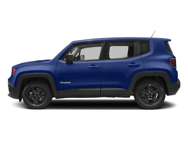 Jetset Blue 2018 Jeep Renegade Pictures Renegade Upland Edition 4x4 photos side view