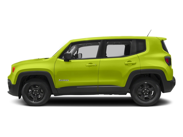 Hypergreen Clearcoat 2018 Jeep Renegade Pictures Renegade Upland Edition 4x4 photos side view