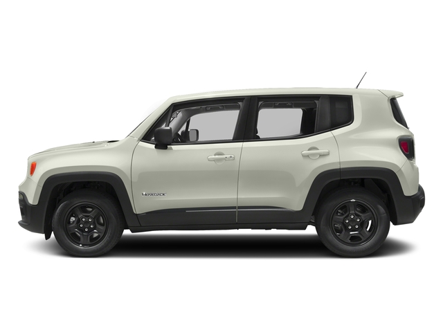 Alpine White 2018 Jeep Renegade Pictures Renegade Upland Edition 4x4 photos side view