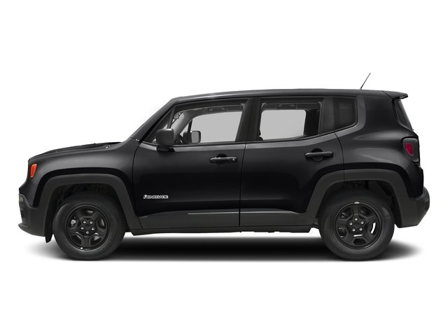Black 2018 Jeep Renegade Pictures Renegade Upland Edition 4x4 photos side view
