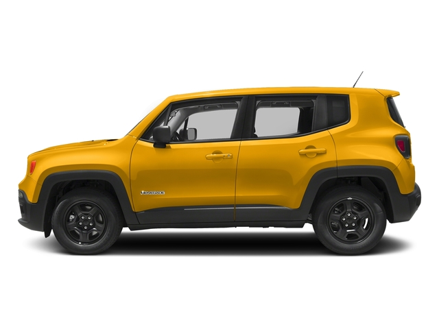 Solar Yellow 2018 Jeep Renegade Pictures Renegade Upland Edition 4x4 photos side view