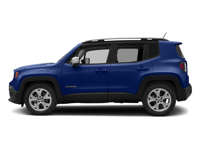 Jetset Blue 2018 Jeep Renegade Pictures Renegade Limited FWD photos side view