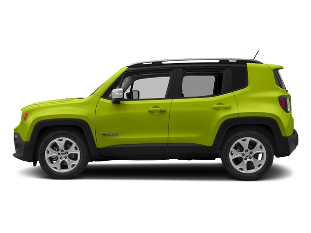 Hypergreen Clearcoat 2018 Jeep Renegade Pictures Renegade Limited FWD photos side view
