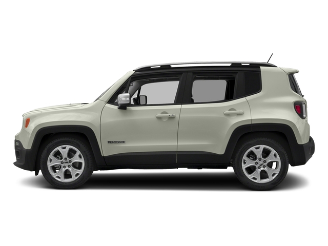 Alpine White 2018 Jeep Renegade Pictures Renegade Limited FWD photos side view