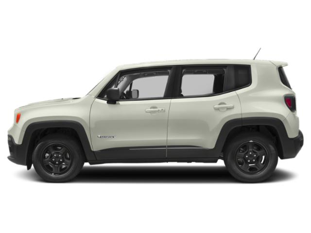 Alpine White 2018 Jeep Renegade Pictures Renegade Latitude 4x4 photos side view