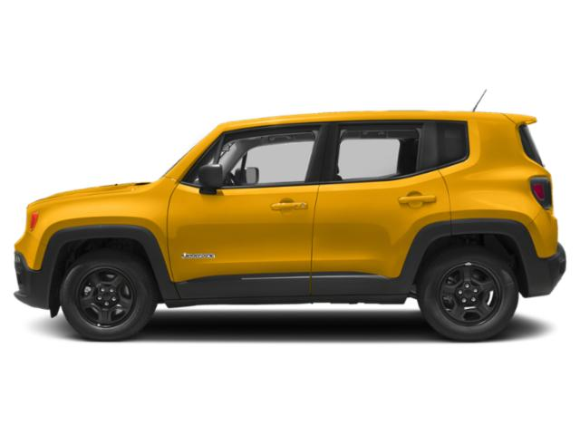 Solar Yellow 2018 Jeep Renegade Pictures Renegade Utility 4D Sport 2WD photos side view
