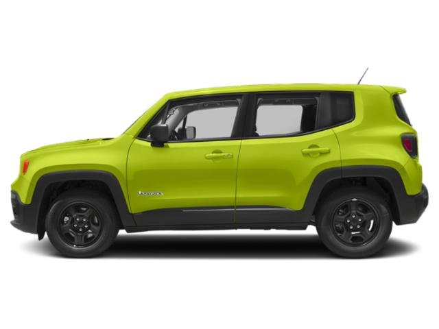 Hypergreen Clearcoat 2018 Jeep Renegade Pictures Renegade Utility 4D Sport 2WD photos side view