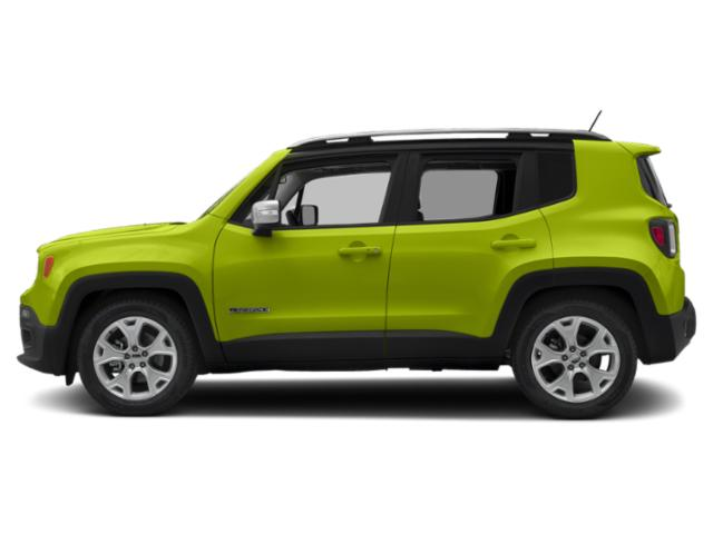 Hypergreen Clearcoat 2018 Jeep Renegade Pictures Renegade Utility 4D Limited 2WD photos side view