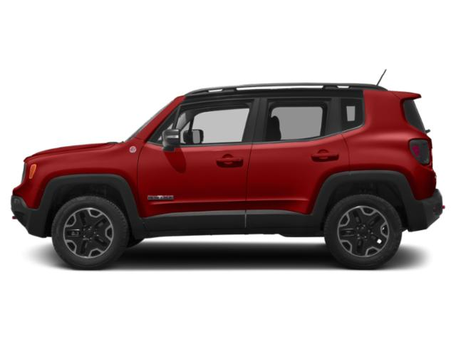 Colorado Red 2018 Jeep Renegade Pictures Renegade Utility 4D Trailhawk 4WD photos side view